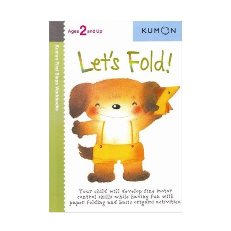 Kumon Lets Fold Buku Aktivitas