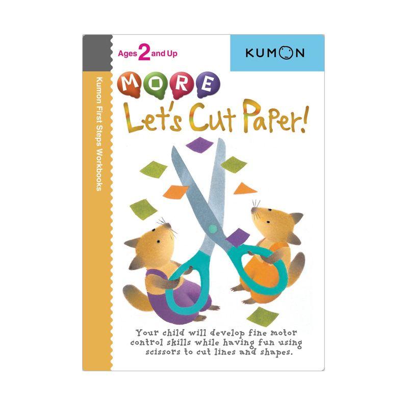 Kumon More Lets Cut Paper Buku Anak