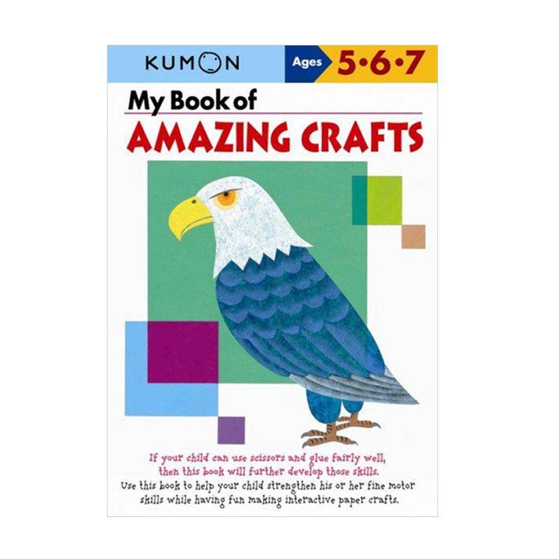 Kumon My Book of Amazing Crafts Buku Anak