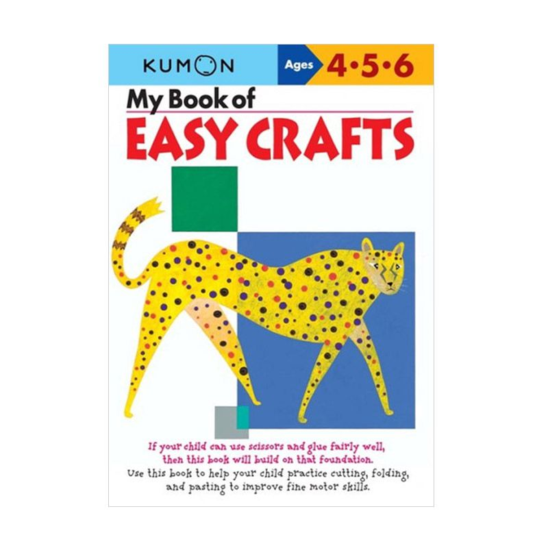 Kumon My Book of Easy Crafts Buku Anak