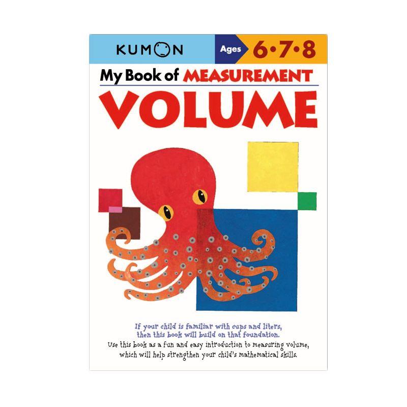 Kumon My Book of Measurement Volume Buku Matematika