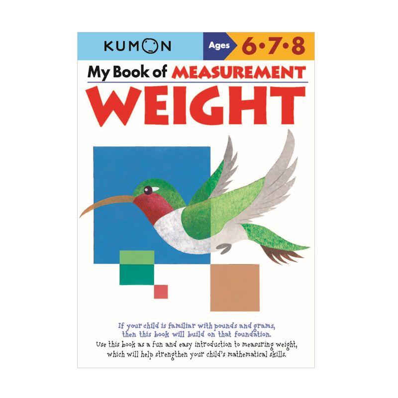 Kumon My Book of Measurement Weight Buku Matematika