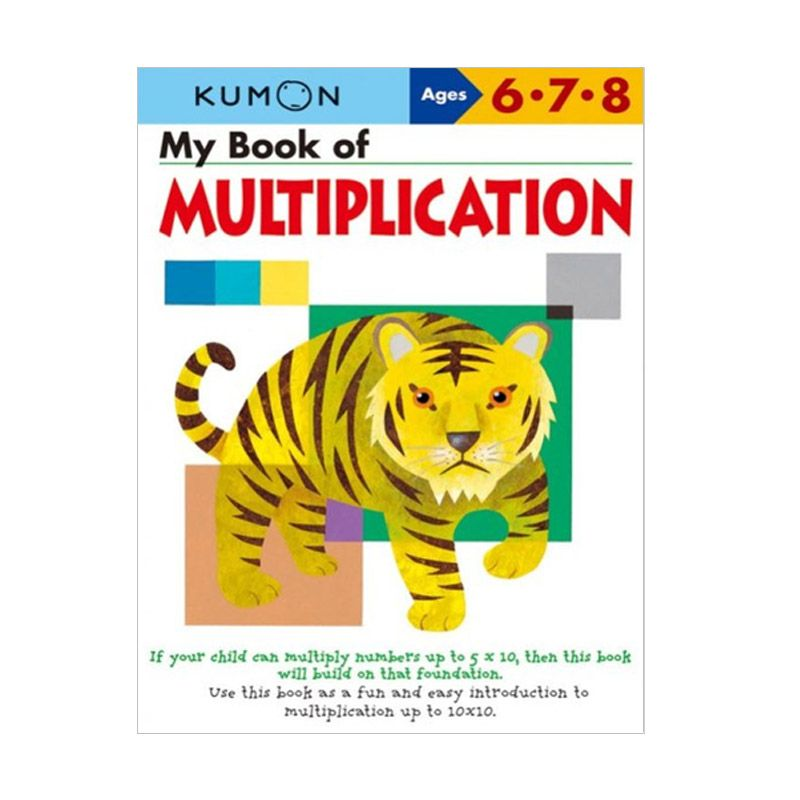 Kumon My Book Of Multiplication Buku Anak