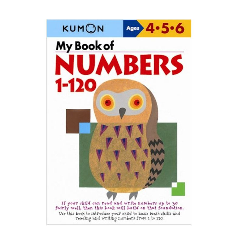Kumon My Book of Numbers 1-120 Buku Anak