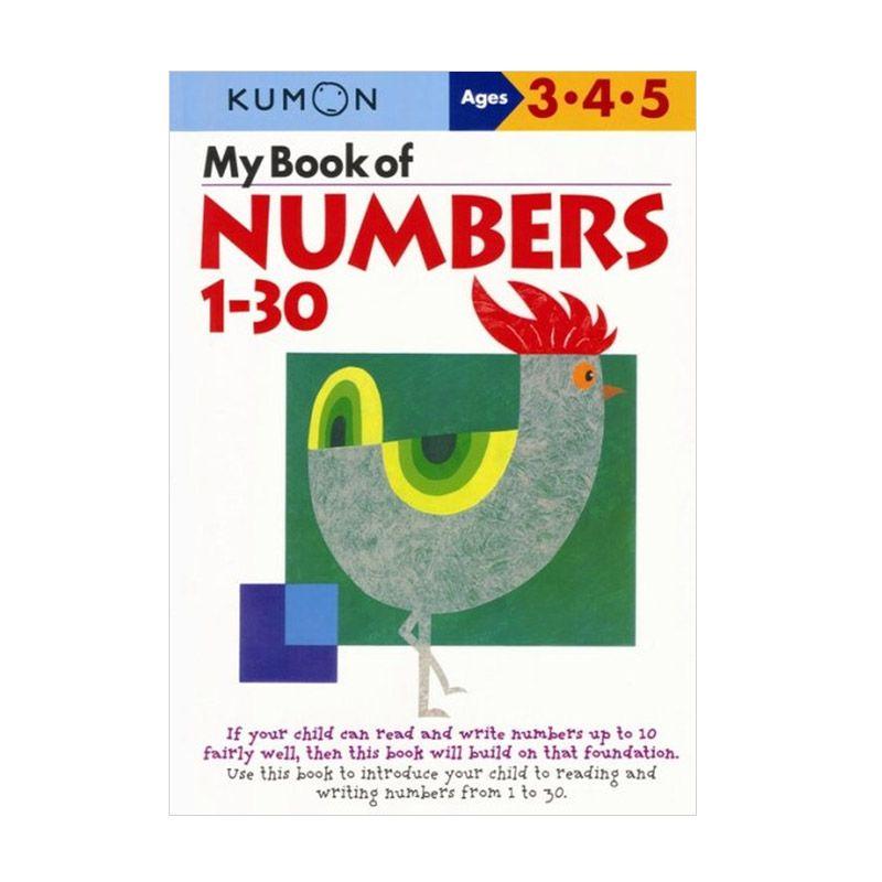 Kumon My Book of Numbers 1-30 Buku Anak