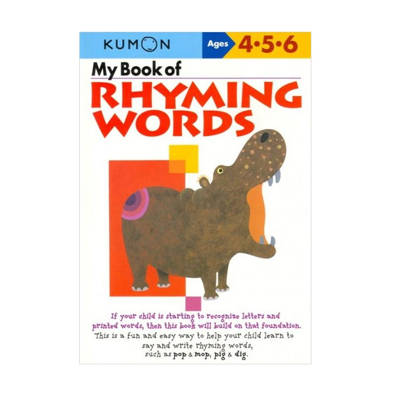 Kumon My Book of Rhyming Words Buku Anak