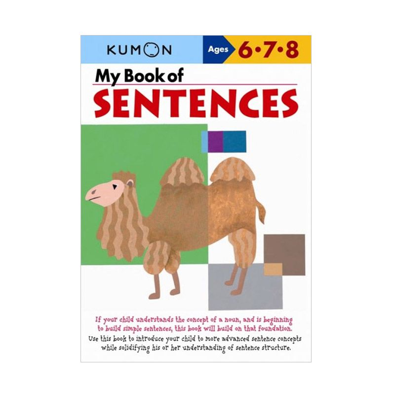 Kumon My Book of Sentences Buku Anak