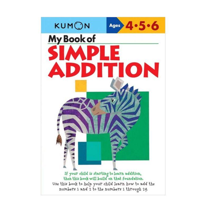 Kumon My Book of Simple Addition Buku Anak