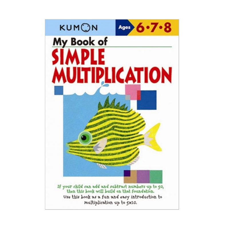 Kumon My Book of Simple Multiplication Buku Anak