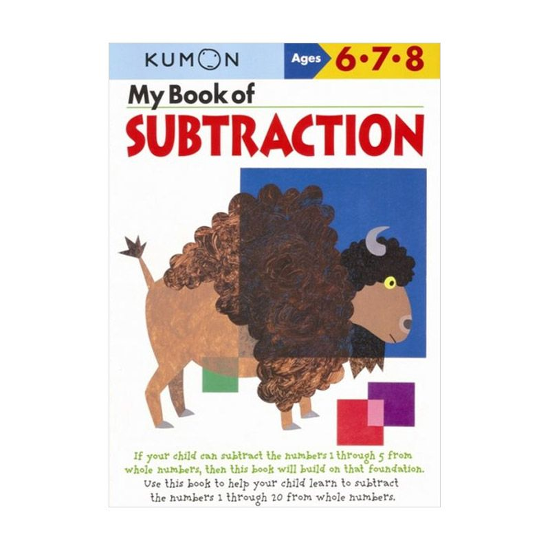 Kumon My Book of Subtraction Buku Anak