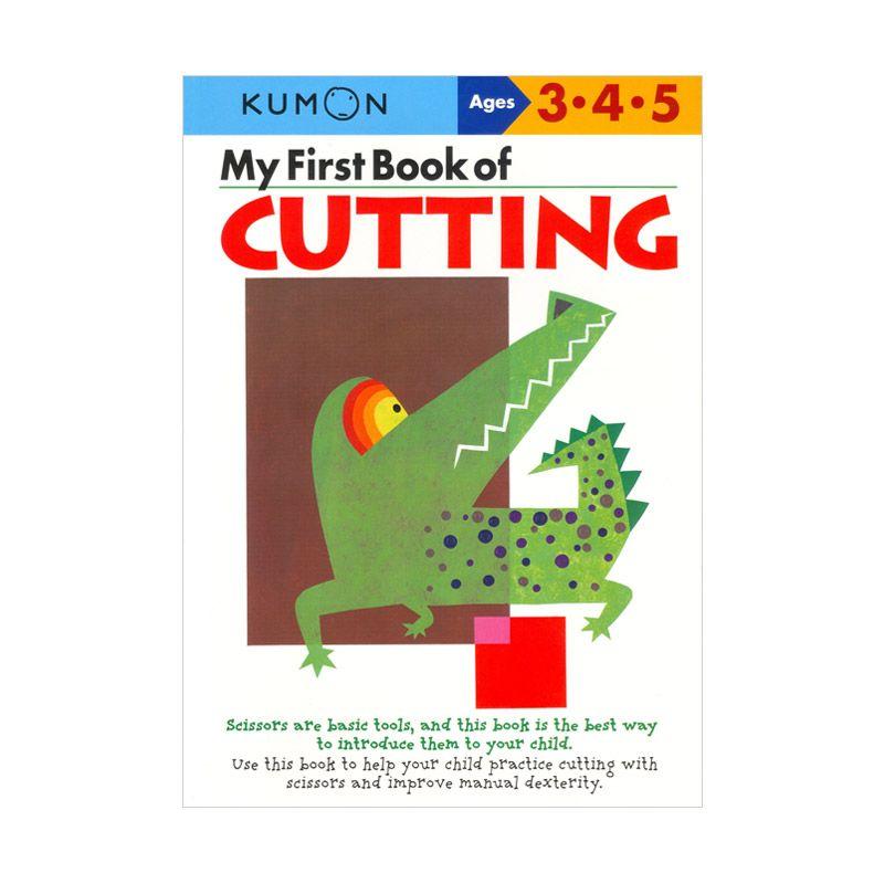 Kumon My First Book of Cutting Buku Aktivitas