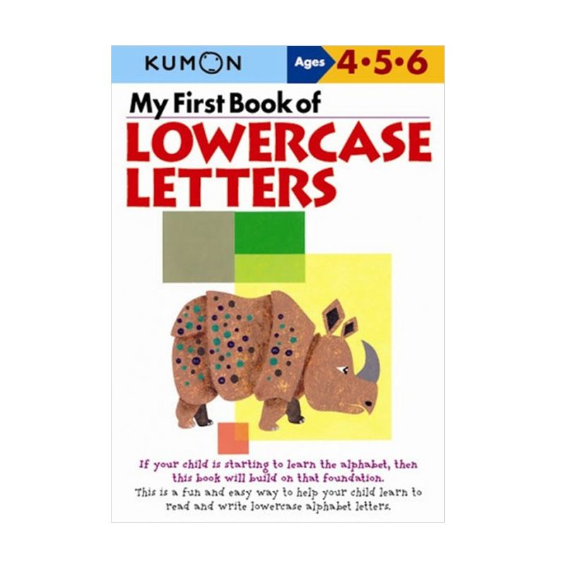 Kumon My First Book of Lowercase Letters Buku Anak