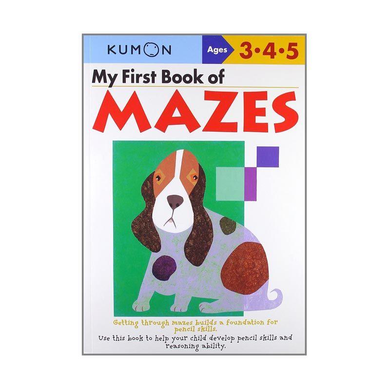 Kumon My First Book of Mazes Buku Anak