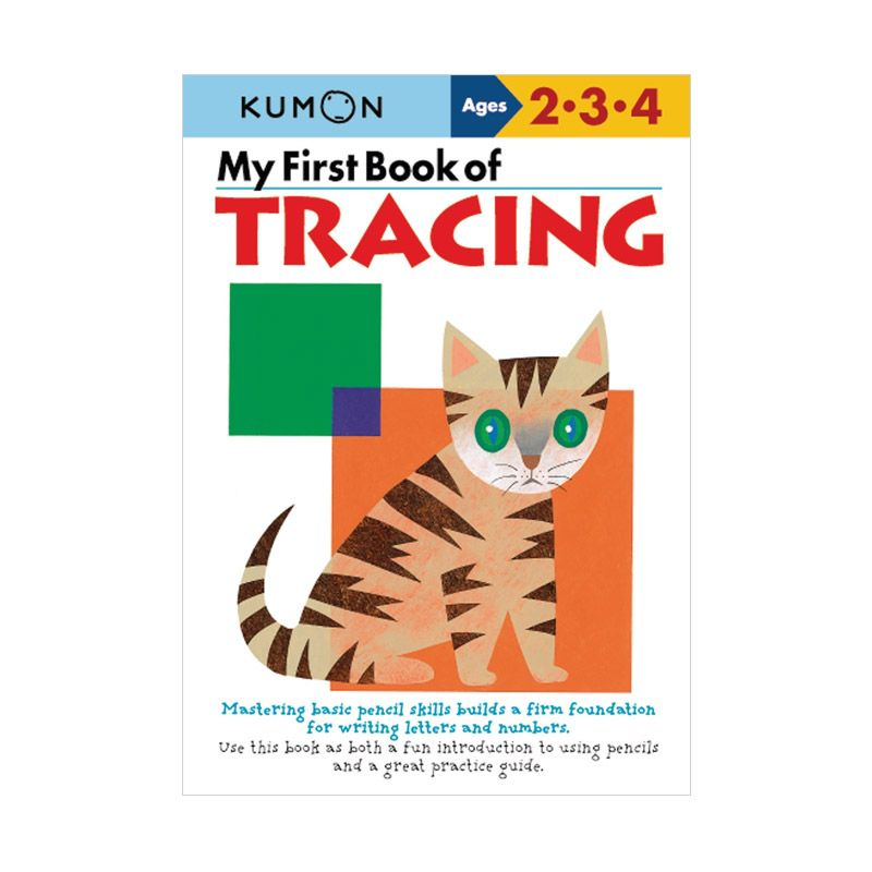 Kumon My First Book of Tracing Buku Aktivitas