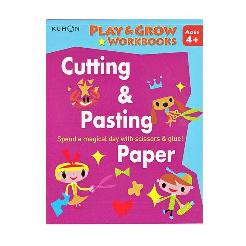 Kumon Play and Grow Cutting and Pasting Paper Buku Aktifitas