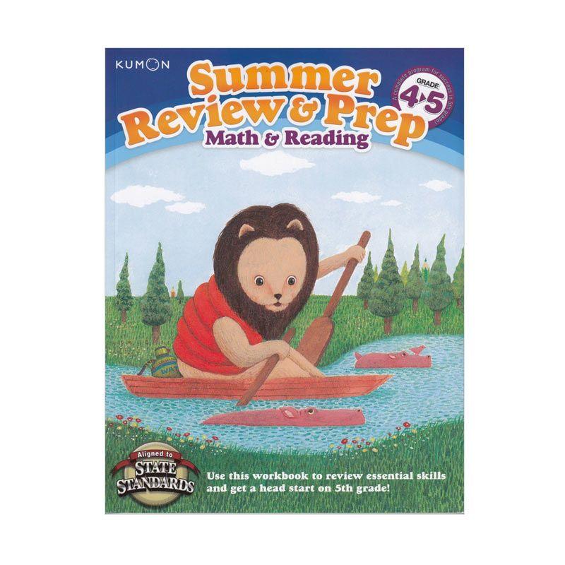 Kumon Summer Review and Prep 4-5 Buku Matematika