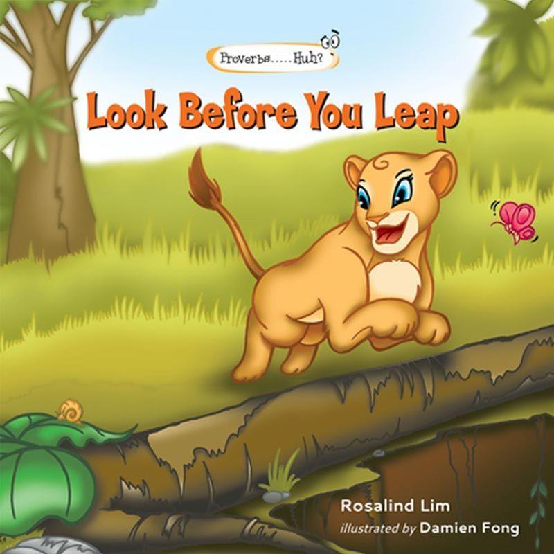 Look Before You Leap Buku Anak