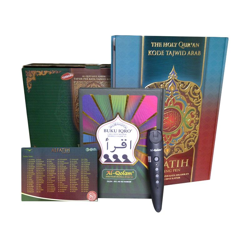 Solusi Muslim Alquran Digital Alfatih Talking Pen Al-Quran