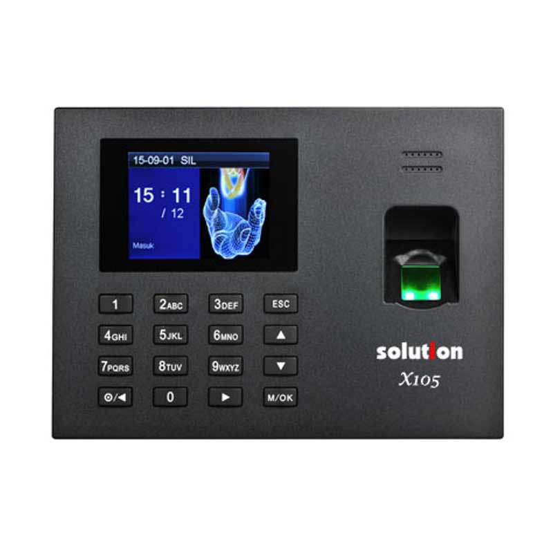 Mesin Absensi Fingerprint Solution X105