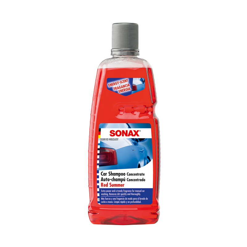 Sonax Car Shampoo Concentrate Red Summer