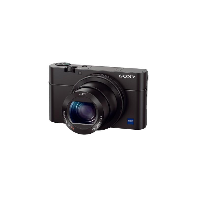 Sony Cyber-shot DSC-RX100 Mark IV Kamera Pocket - Black + Free Memory 64GB