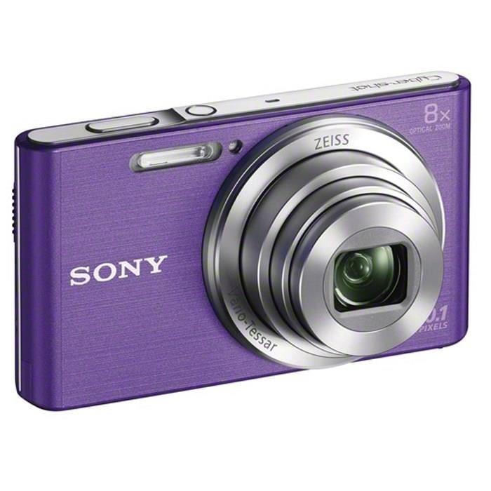 Sony Cyber-shot DSC-W830 Kamera Pocket - Violet + Free Memory 8GB