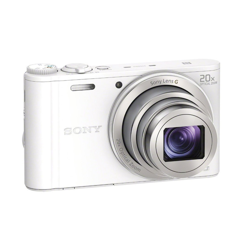 Sony DSC-WX 350 Kamera Pocket - White