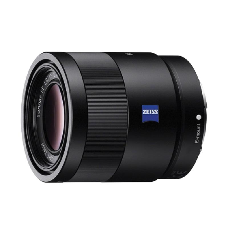 SONY Sonnar T* FE 55mm f/1.8 ZA Lensa Kamera