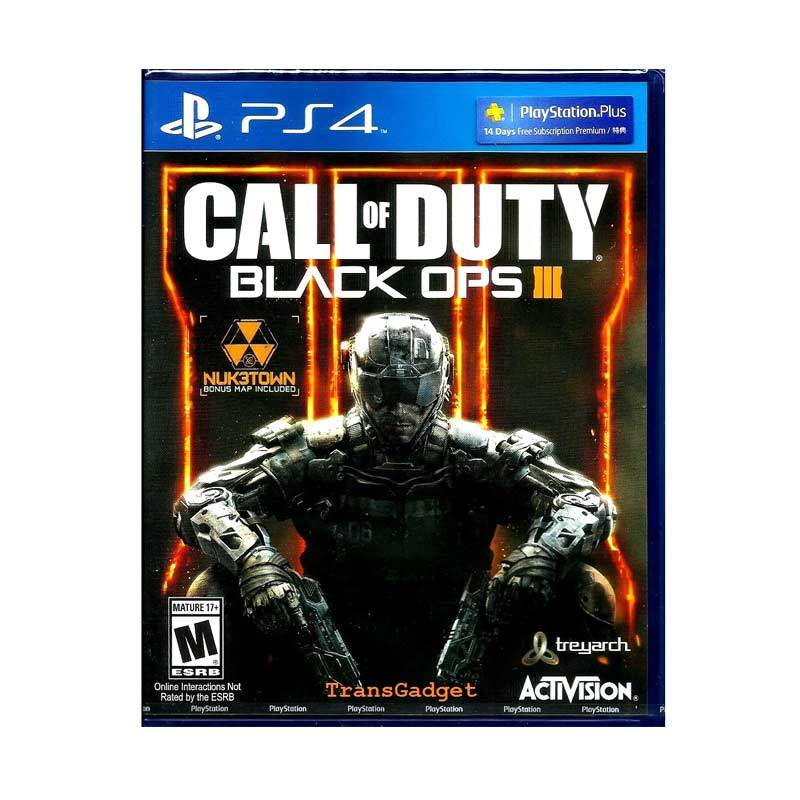 Jual Sony Ps4 Call Of Duty Black Ops Iii Online November 2020 Blibli