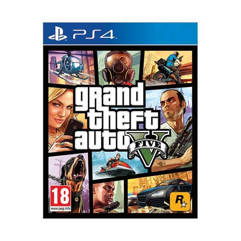 PS4 GTA V DVD Game