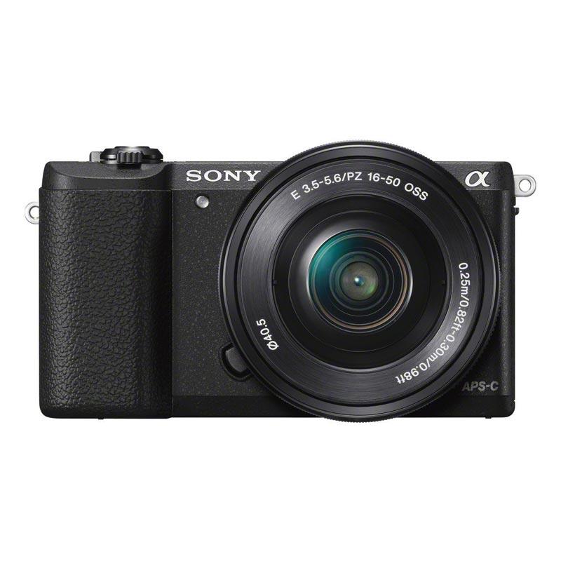 Sony Alpha ILCE A5100L KIT 16-50mm f/3.5-5.6 OSS Black + Sony SDHC 8GB Class10
