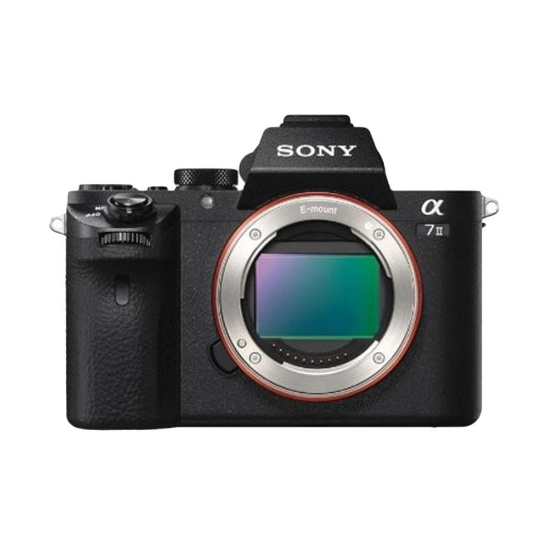 Sony Alpha A7 II ILCE-7M2 Hitam + Lensa 85mm F1.8