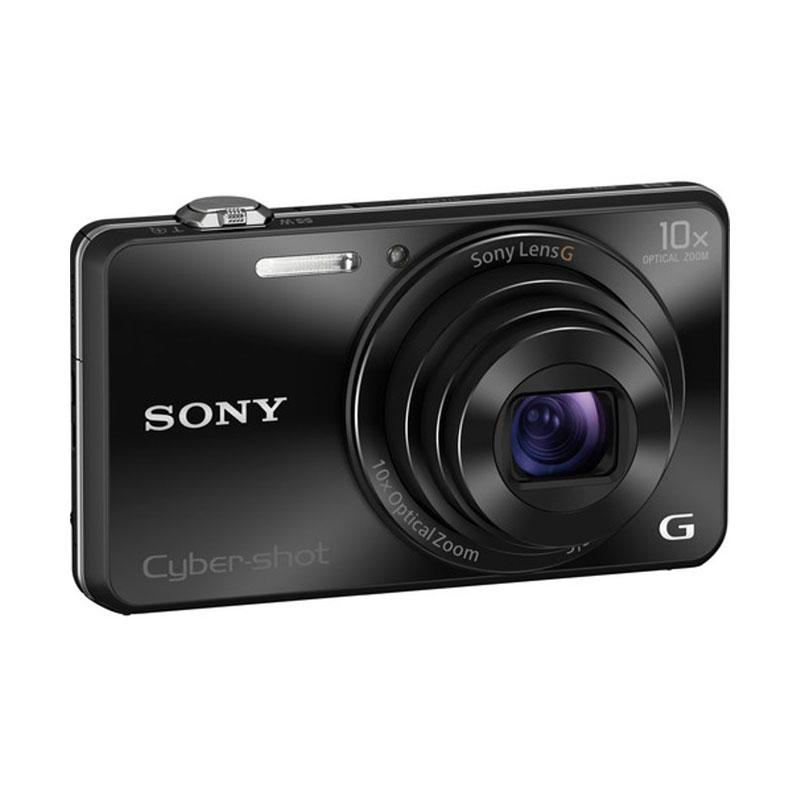 Sony Cyber-shot DSC-WX220 Kamera Pocket - Hitam [18.2 MP]