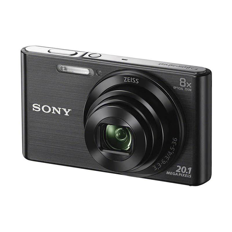 SONY DSC-W830 Black Kamera Pocket