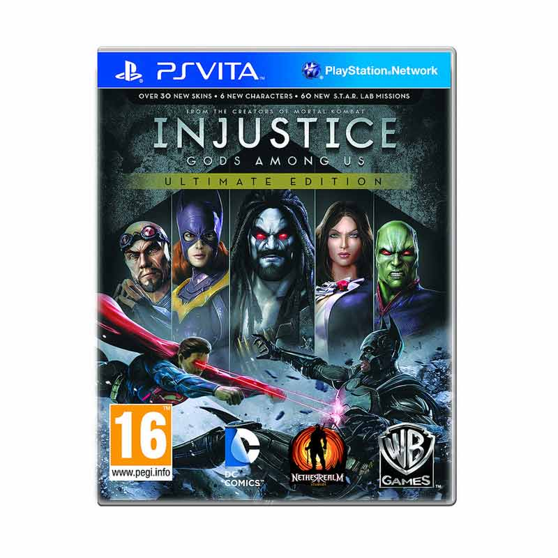 Sony PS Vita Injustice: Gods Among Us DVD Game