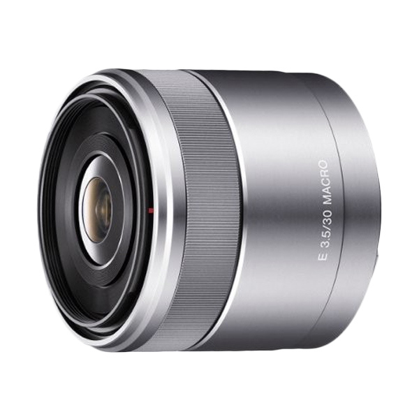 Sony Lens E 30mm f/3.5 Macro Silver