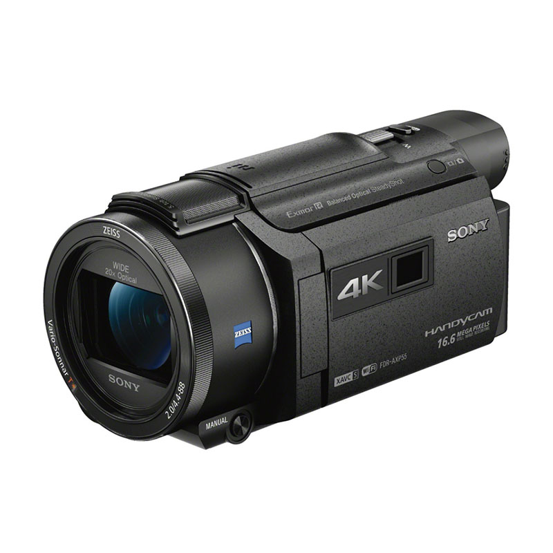 Sony FDR-AXP55 4K Camcorder with Built-In Projector