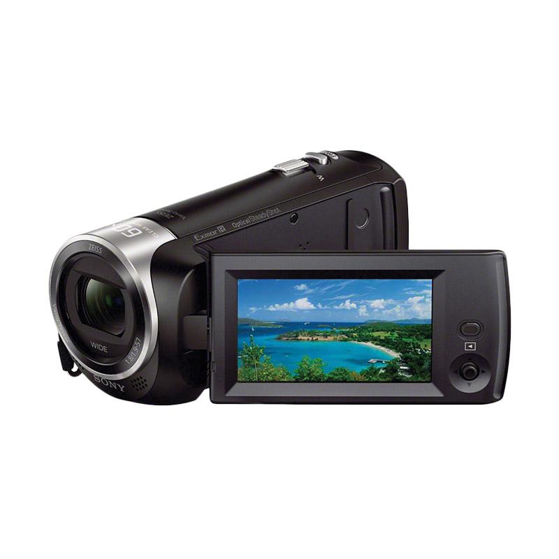 Sony HDR-CX405 Handycam - Black + Free Memory Micro Sandisk 16GB + Tas + LCD Screen Guard Extra diskon 7% setiap hari Extra diskon 5% setiap hari Citibank – lebih hemat 10%