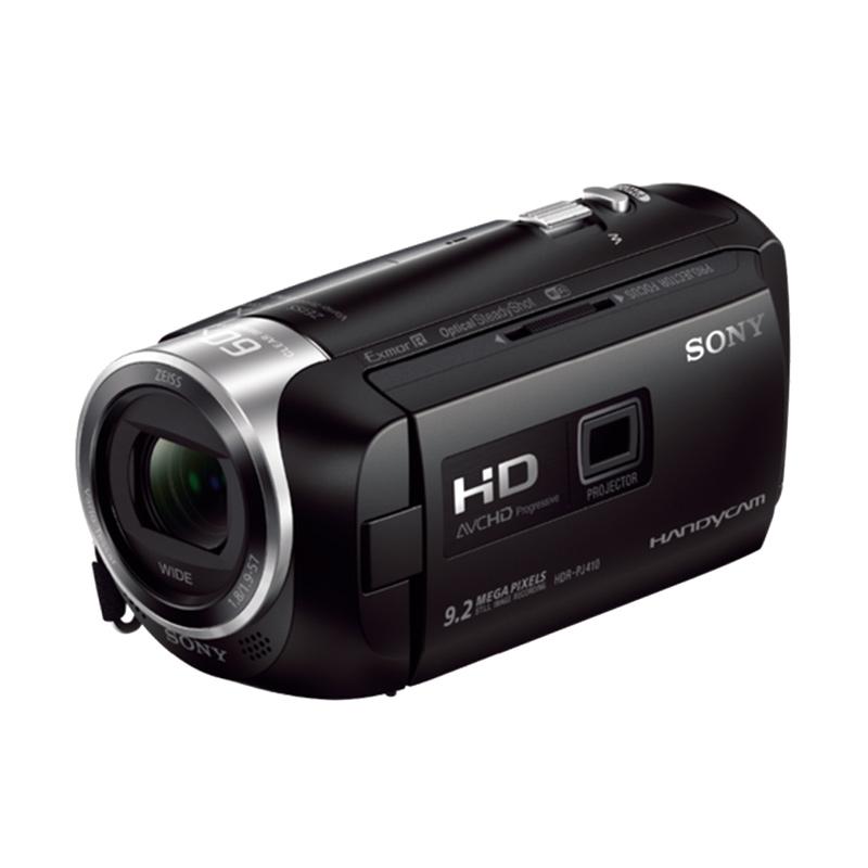 Sony HDR-PJ410 Camcorder - Hitam