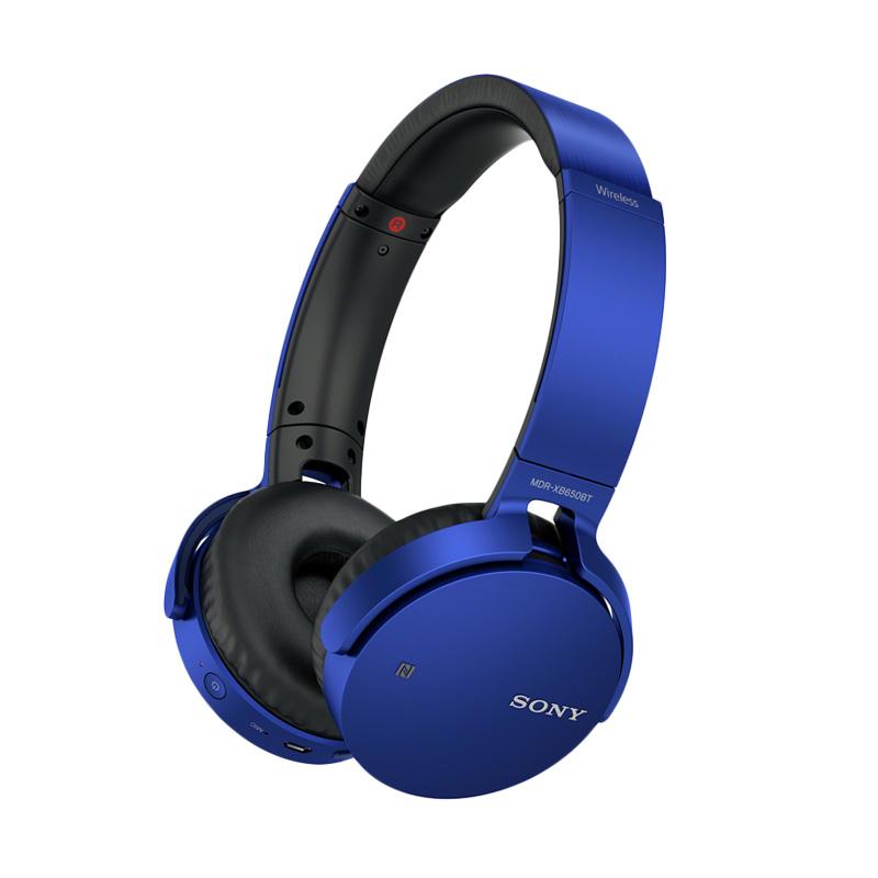 SONY MDR-XB650BT Extra Bass Bluetooth Headphone - Blue