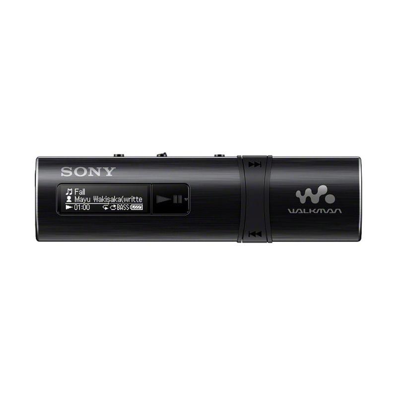 harga Sony NWZ-B183F Flash MP3 Player with Built-in FM Tuner - Hitam [4 GB] Blibli.com