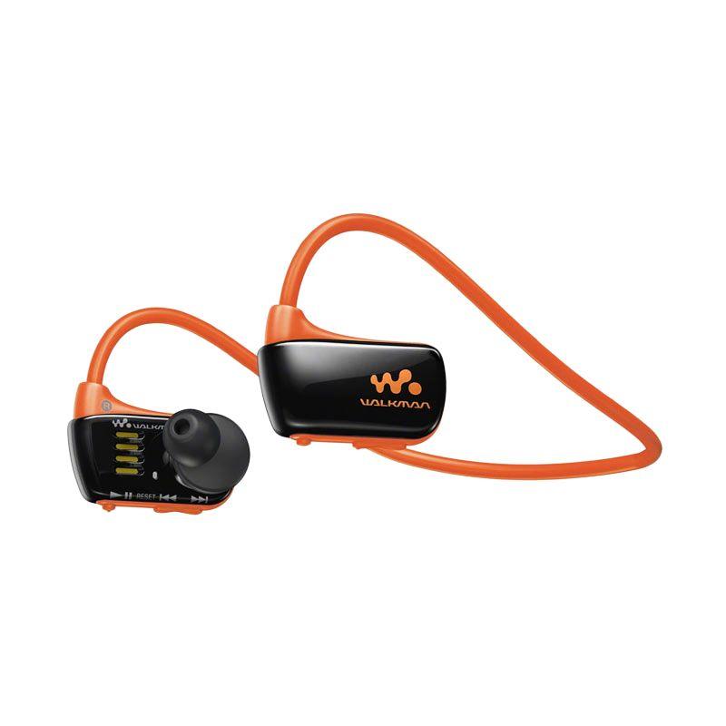Sony NWZ-W273S/DME Black Orange Walkman