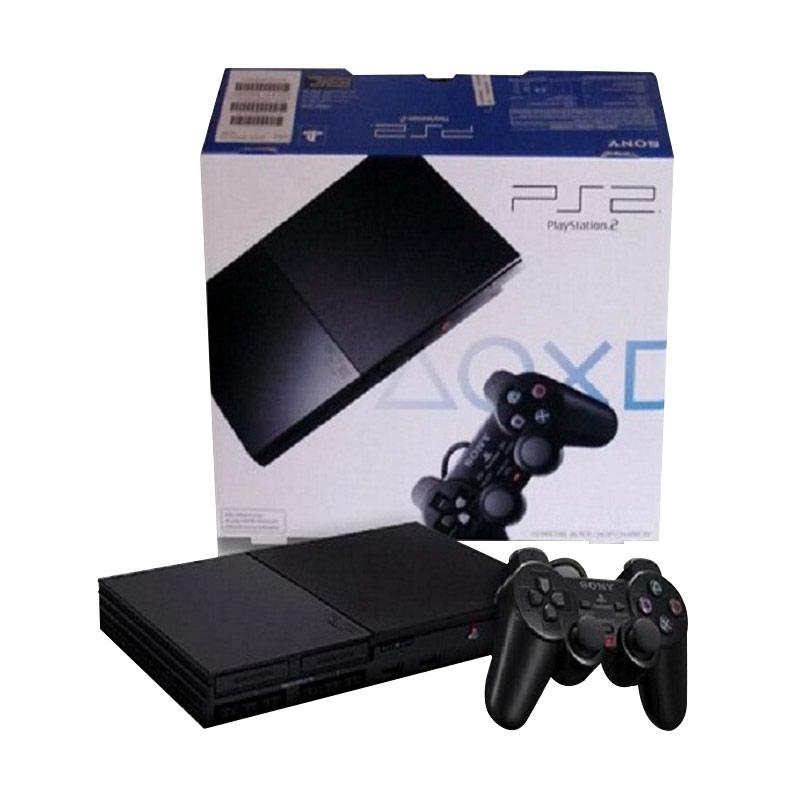 Sony Playstation 2 Slim seri 9 Multi with 2 Stick [ HDD 40GB ]