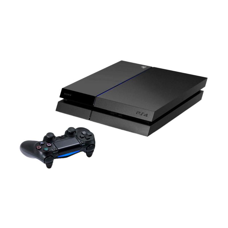 Sony Playstation 4 Original Hitam Game Console
