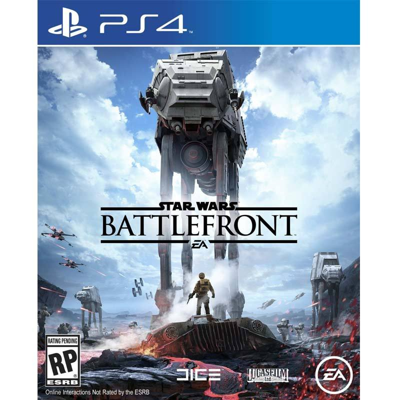 Sony PlayStation 4 Star Wars Battlefront DVD Game
