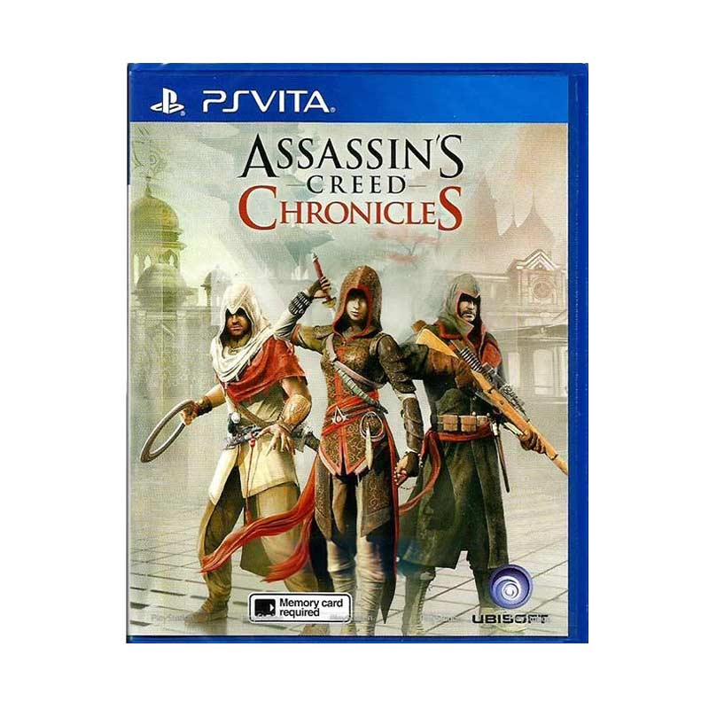 Sony PS Vita Assassin's Creed Chronicles DVD Game