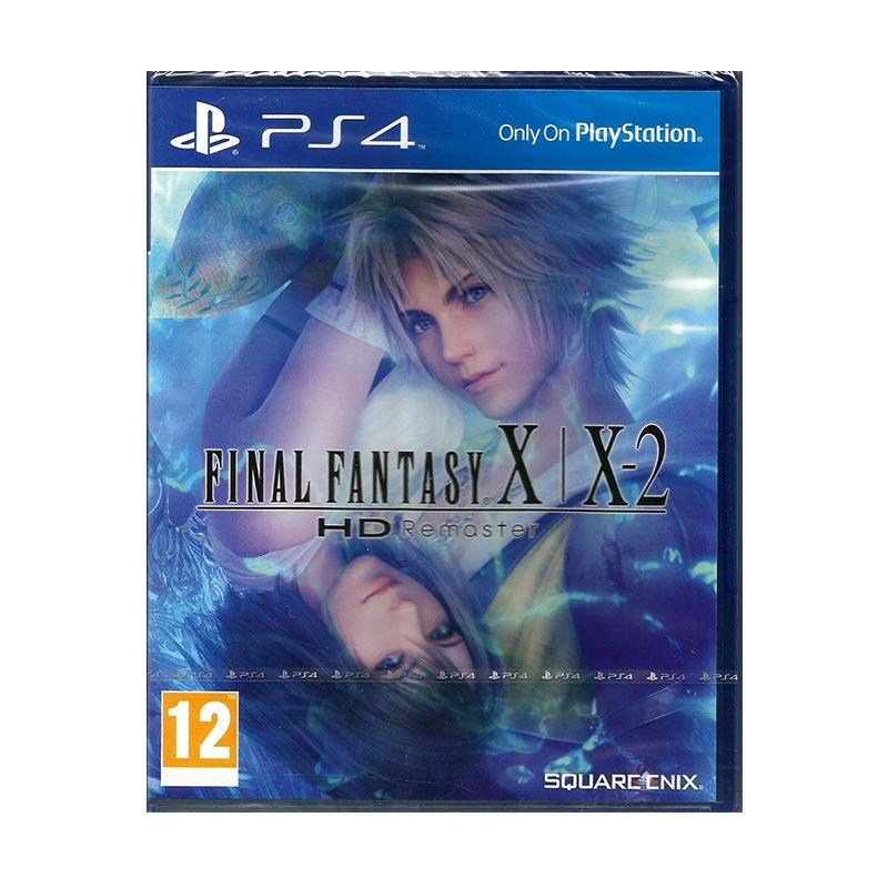 harga Sony PS4 Final Fantasy X / X-2 HD Remaster DVD Game Blibli.com