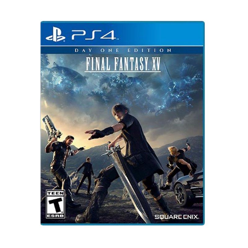 harga Final Fantasy XV DVD PS4 (R1) Blibli.com