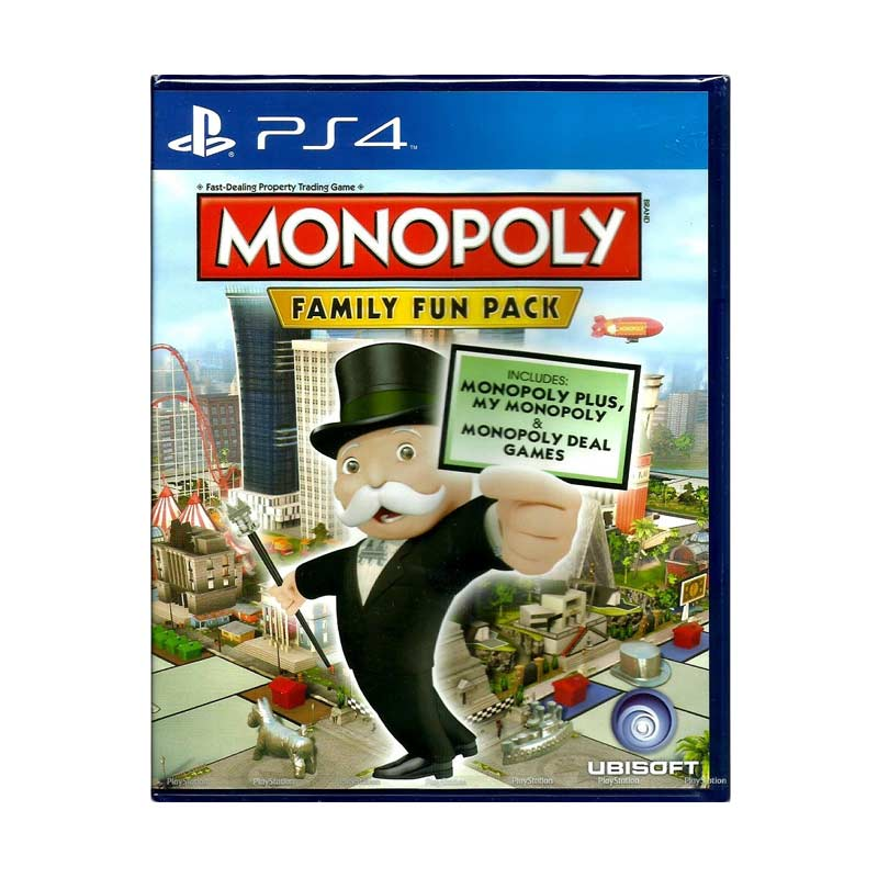 Sony PS4 Monopoly Family Fun Pack DVD Game