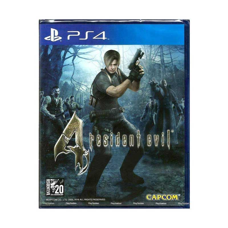 SONY PS4 Resident Evil 4 DVD Game